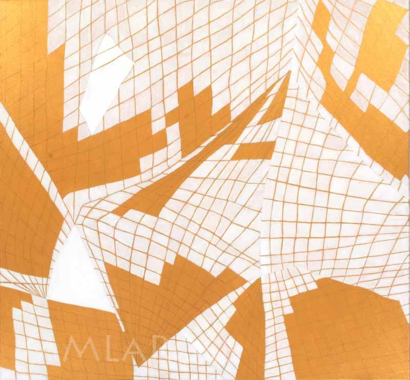 Geometry on Gold / Géometrie en or ~ Michèle LaRose