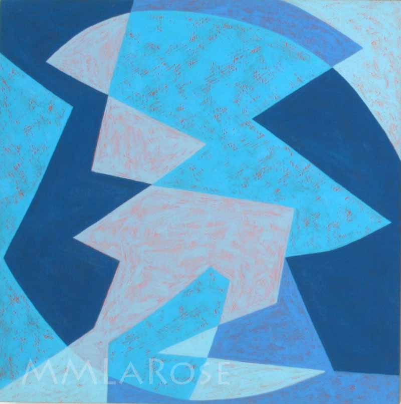 Blue Suite #1 - Michèle LaRose