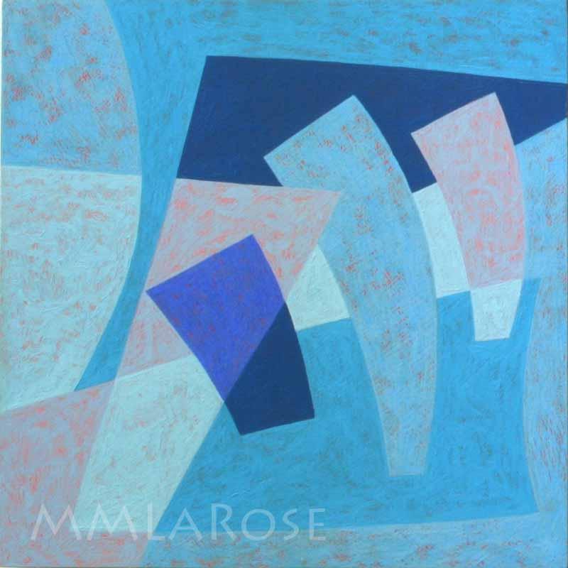Blue Suite #3 - Michèle LaRose