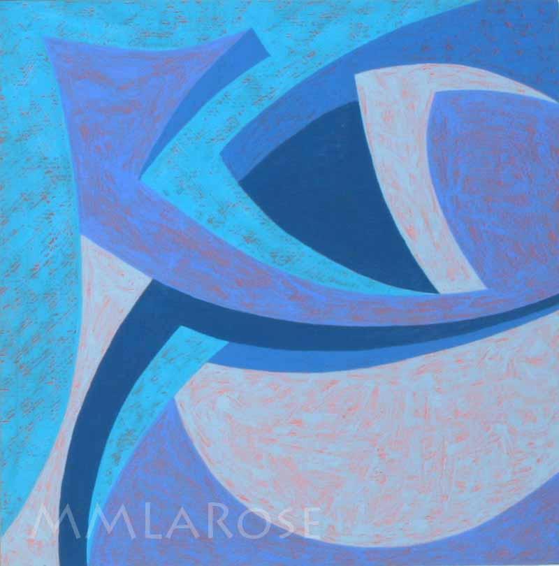 Blue Suite #6 - Michèle LaRose