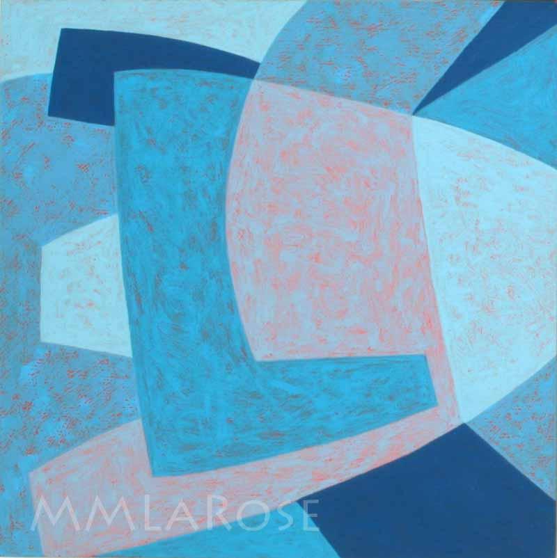 Blue Suite #7 - Michèle LaRose