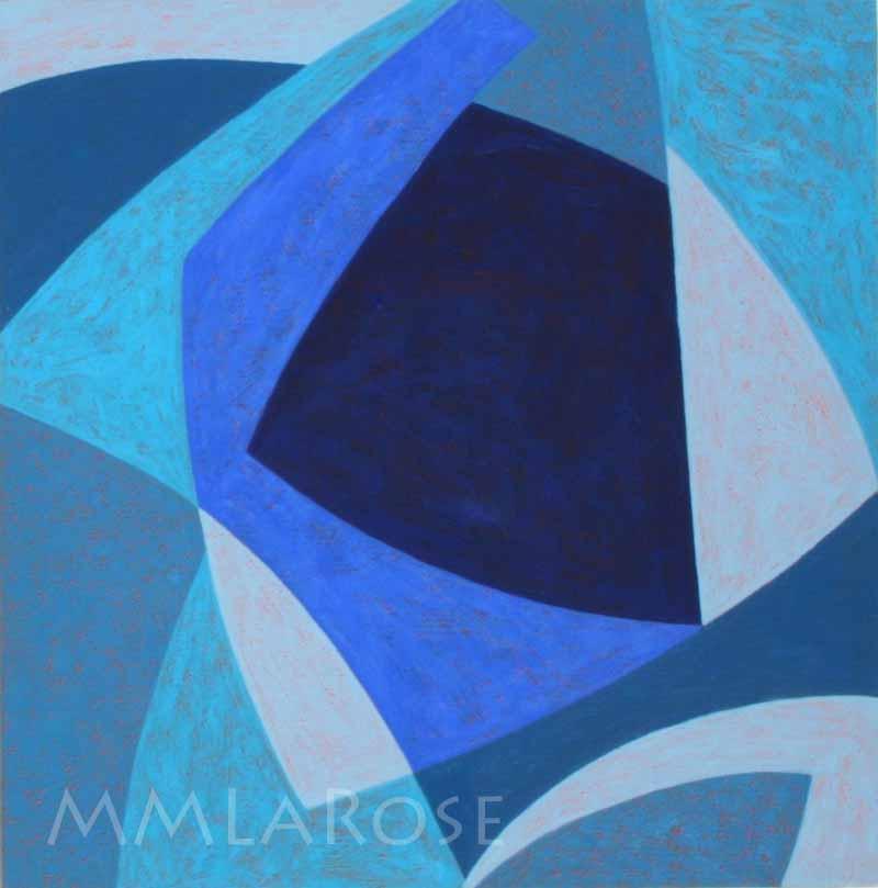 Blue Suite #9 - Michèle LaRose