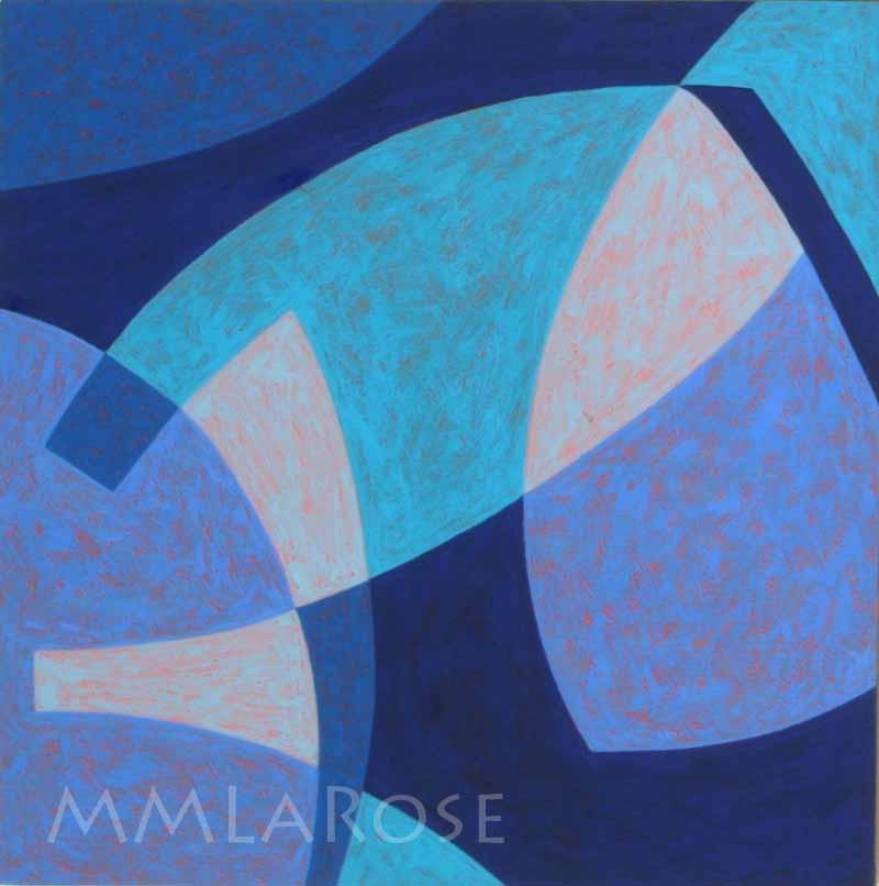 Blue Suite #10 - Michèle LaRose