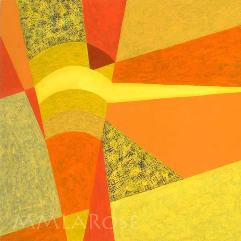 Yellow Suite #1 / Suite jaune #1 - Michèle LaRose