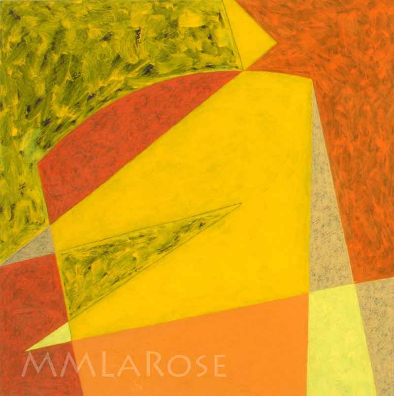 Yellow Suite #3 / Suite jaune #3 - Michèle LaRose