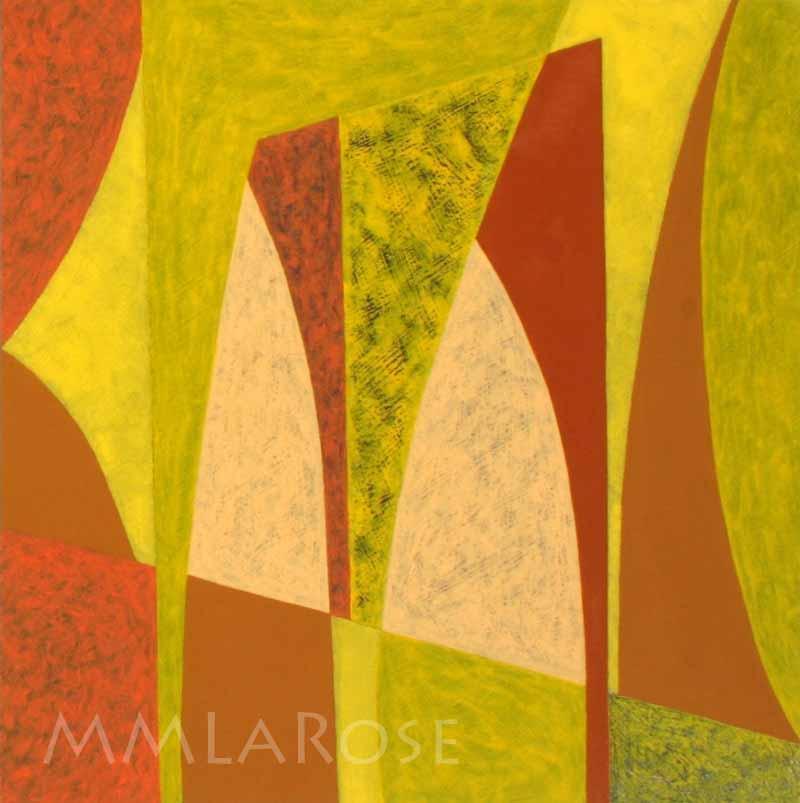 Yellow Suite #4 / Suite jaune #4 - Michèle LaRose