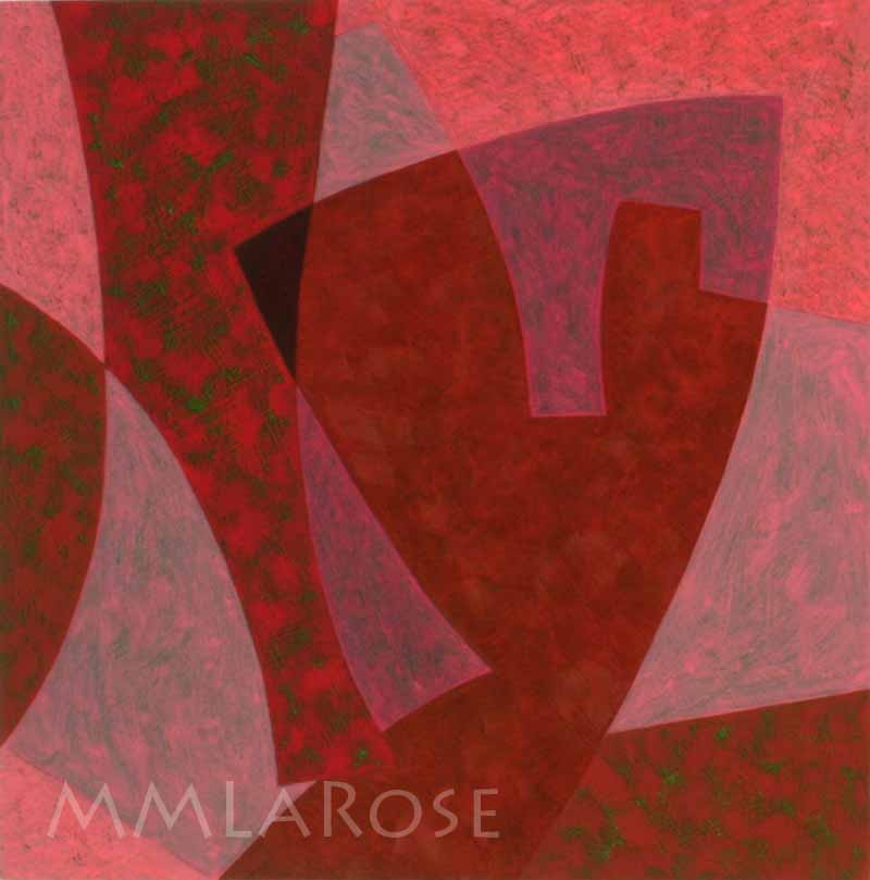 Red Suite #1 / Suite rouge #1 - Michèle LaRose