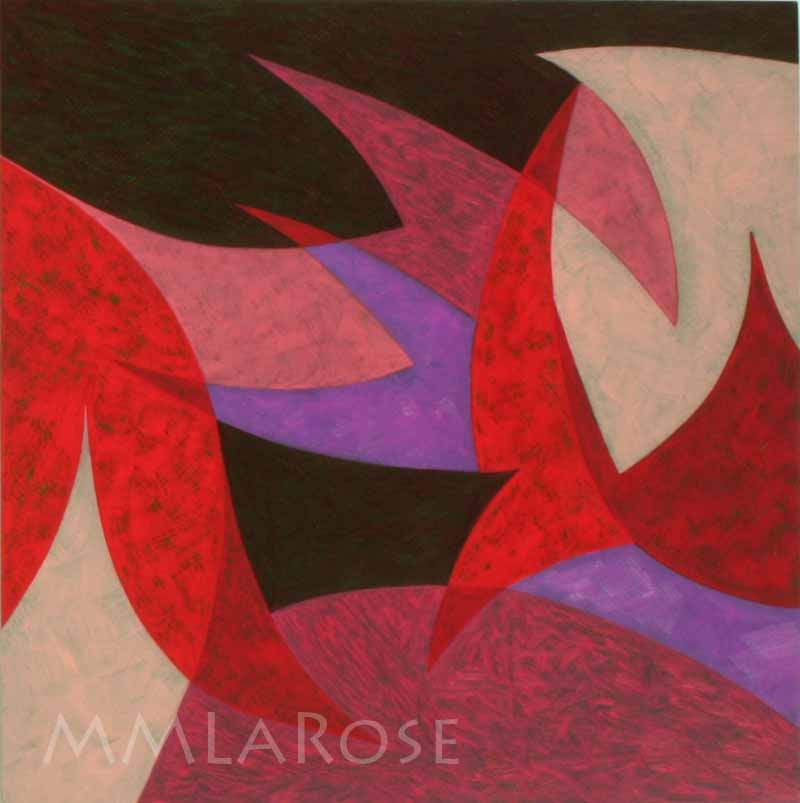 Red Suite #8 / Suite rouge #8 - Michèle LaRose