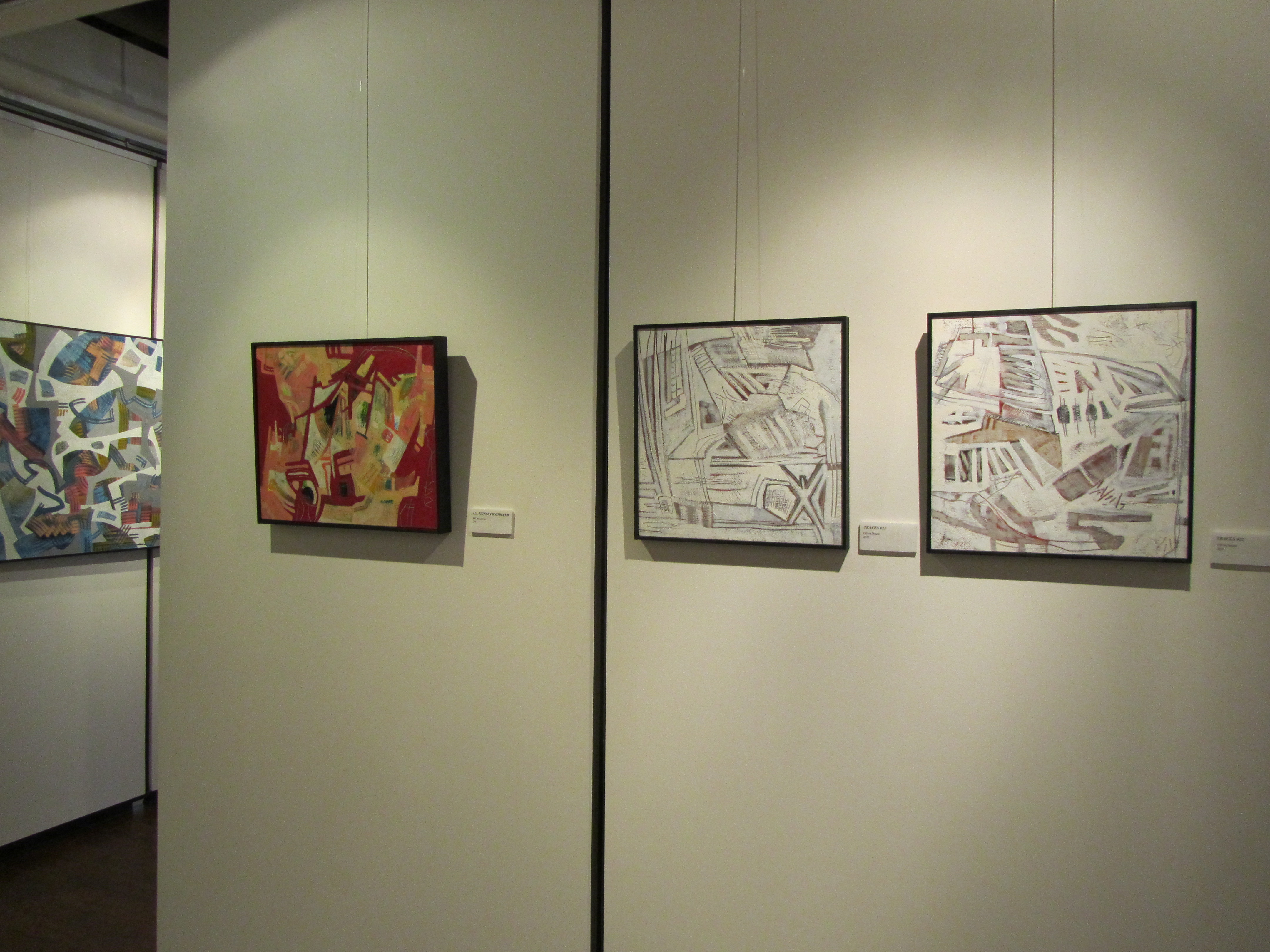 Surface Tensions / Tensions de surface, Marianne Van Silfhout Gallery, Brockville, ON, 2015